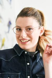 woow eyewear 2020 eyeglasses metal two tone frame giulia de martin behind my glasses eyewear blog influencer 2-1